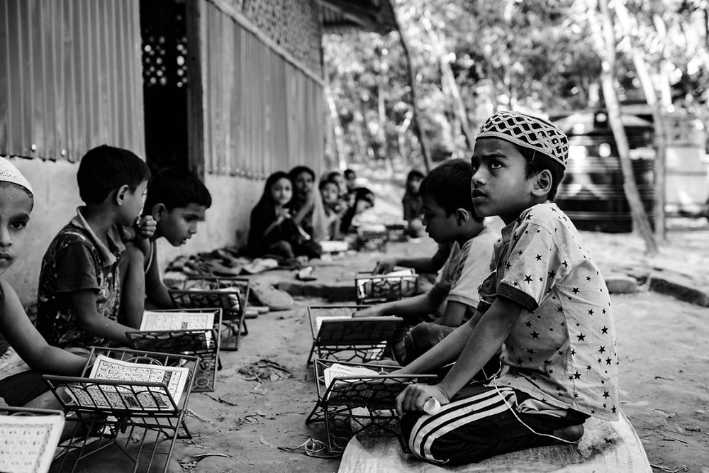 Filling the Hours Limited schooling, including in religion, is available for Rohingya refugee youth. | Szymon Barylski for Politico Magazine
