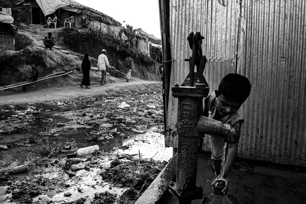 Desperate Circumstances The sheer number of people and the limited infrastructure have led to filthy conditions in the camps. There is almost no privacy.   Szymon Barylski for Politico Magazine