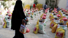 Saudi Arabia distributes relief aid in Yemen