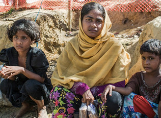 Orphaned Rohingya children forced to grow up too fast