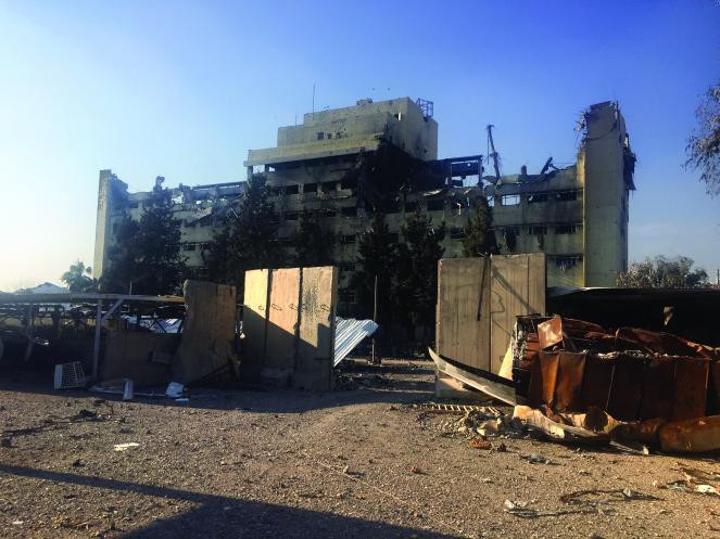 Mosul's Al-Salam Hospital lies in ruins (Mindy Belz)
