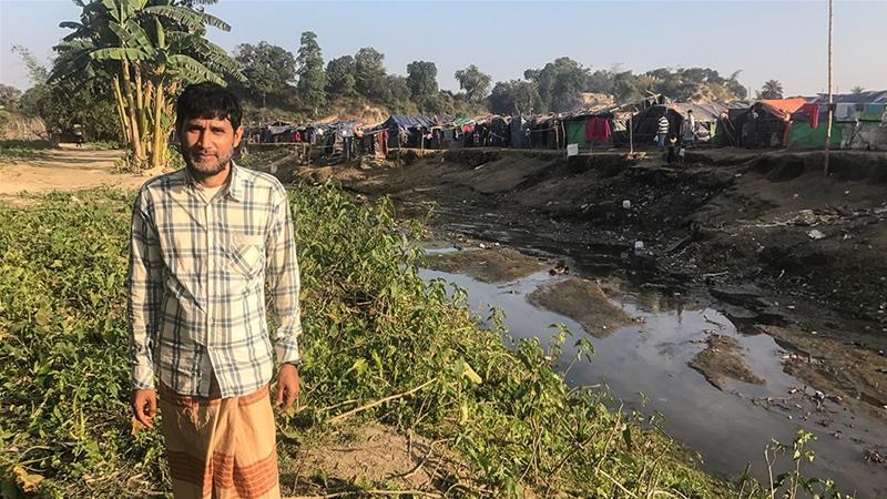 Rohingya refugee Arif Ahmed says he wants safety assurances before returning to Myanmar [Ashish Malhotra/Al Jazeera]