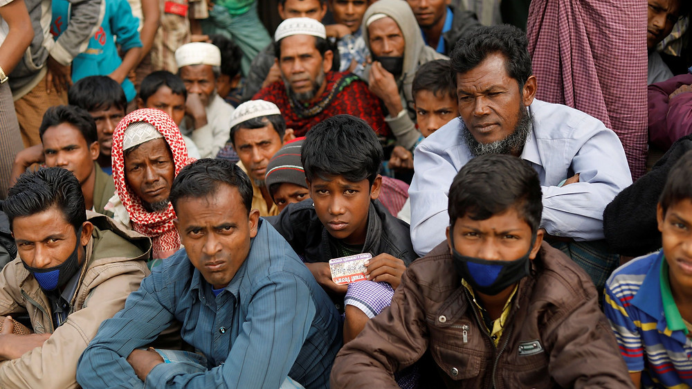 Many Rohingya Muslims remain in overcrowded camps in Bangladesh after over 750,000 have fled Myanmar since late 2016.   © Reuters