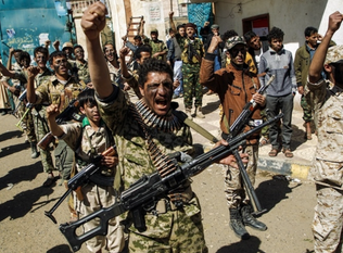Saleh loyalists turn guns on Houthis as Yemen lurches into new conflict