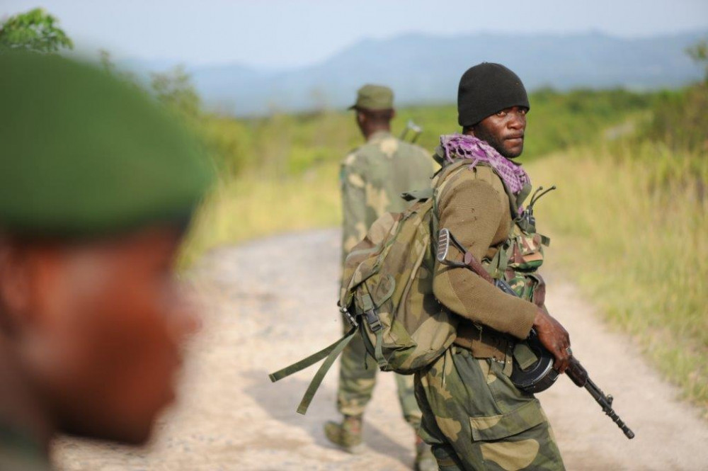 Congolese soldiers have been repeatedly accused of human rights violations (Guy Oliver/IRIN )