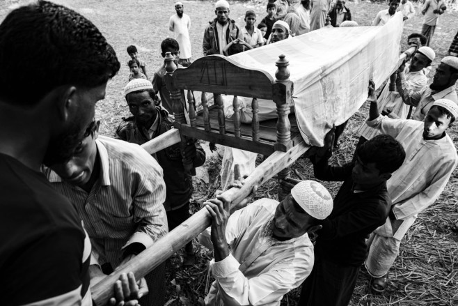 No End in Sight Bangladesh says the Rohingya cannot stay on its soil forever and that Myanmar must take them back. But odds are that many of the refugees will grow old in the camps.   Szymon Barylski for Politico Magazine