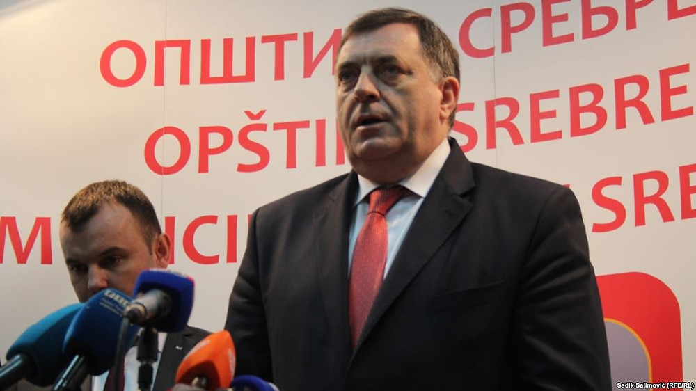 Bosnian Serb leader Milorad Dodik's latest gambit is his declared intention to run for the Bosnian presidency in October -- thereby becoming a member of a tripartite executive branch of a country he does not support, and from which he wishes to secede.
