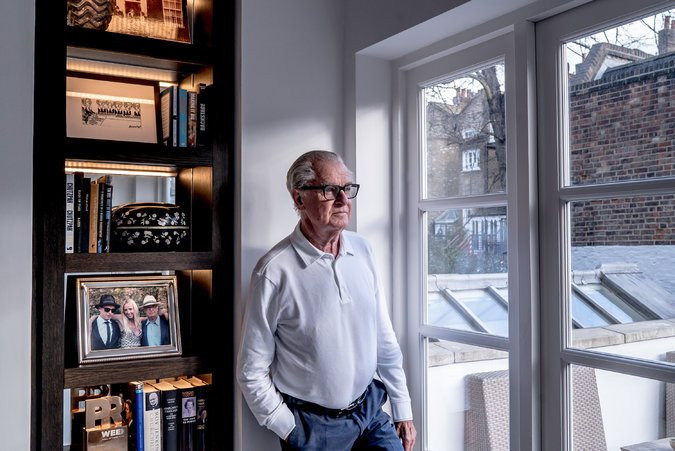 Now 77, Mr. Bell speaks with jaunty indifference and ingratiating candor, a combination that always made the tsk-tskers who disapproved of his client list sound unworldly and naïve. Credit Andrew Testa for The New York Times