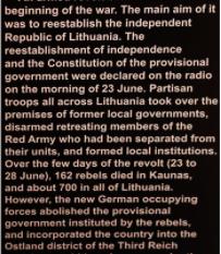 Lithuania's Museum of Holocaust Denial