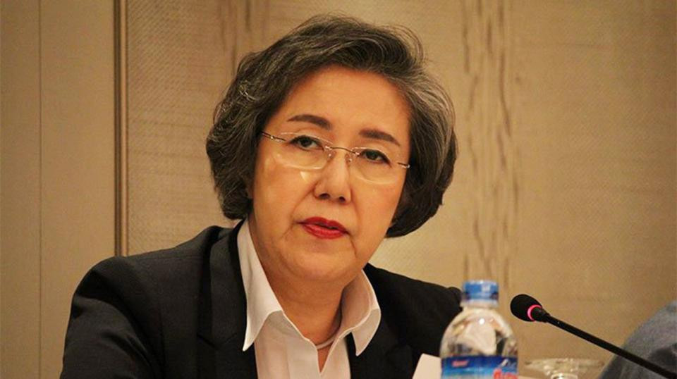 The United Nations Special Rapporteur on the situation of human rights in Myanmar, Yanghee Lee. Star file photo