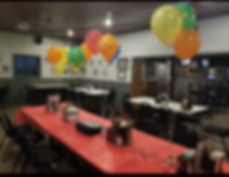 Birthday party, Birthday party venue, Ionia MI, Banquet room, Private venue, Meeting, Reception, Holiday Party