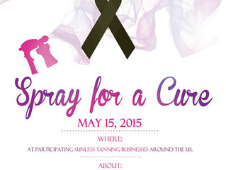 Spray for a Cure Event!