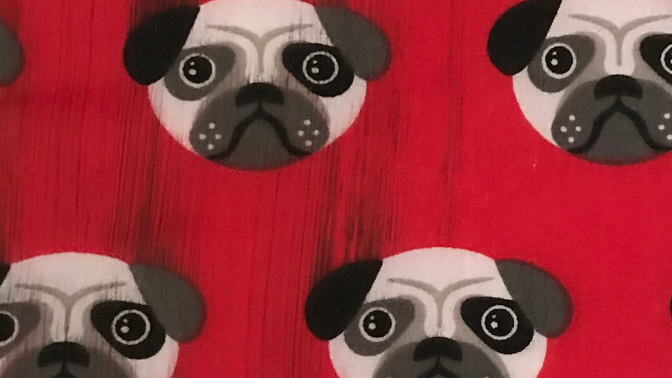 Wedding Favours - Red Pug