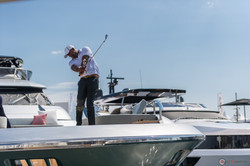 golf and yacht Francis Jacquemin