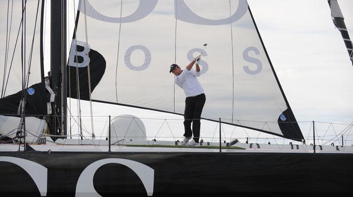golf and yacht Hugo Boss