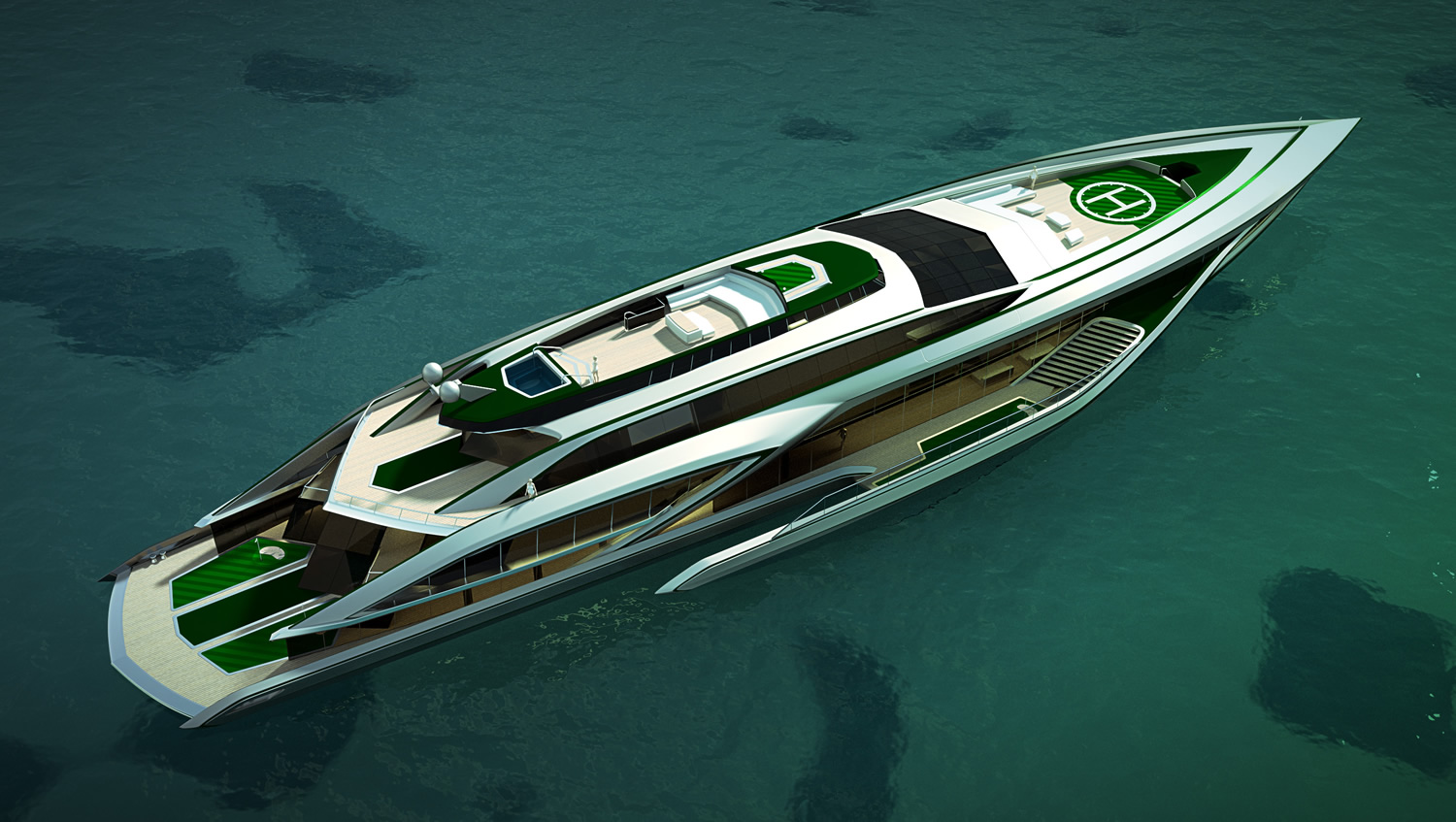 Yacht designer golf and yacht