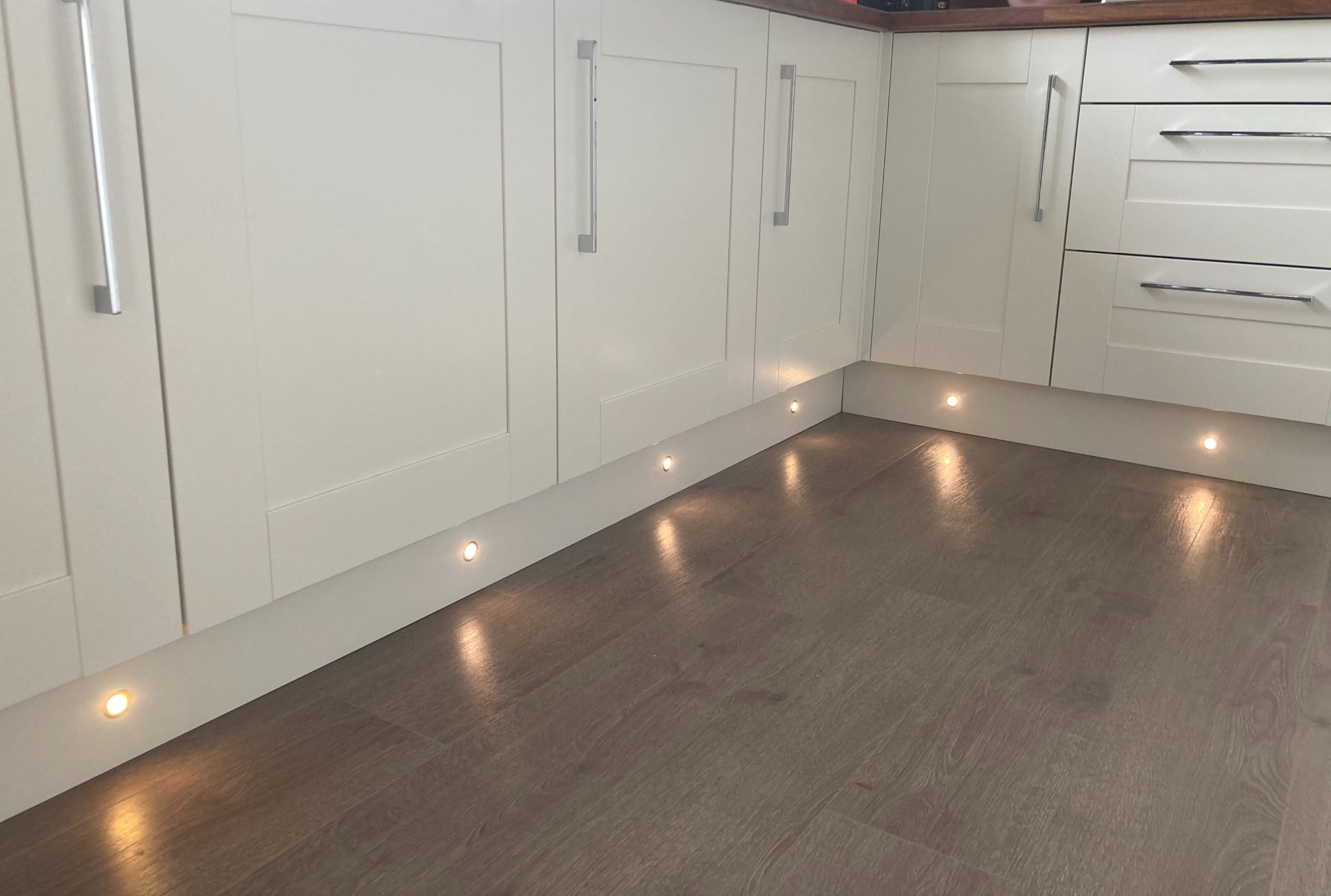 Hull Electrician, Plinth Kitchen Lighting, Hull, Electrician in Hull