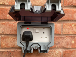 Outdoor Socket Install, Hull, Electrician in Hull, Hull Electrician