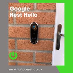 Google Nest Hello Video Doorbell Install Hull, Hull Nest Pro Installer