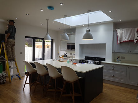 Electrician in Hull, Kitchen Spotlights Hull Electrician