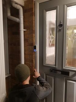 Google Nest Hello Video Doorbell Install