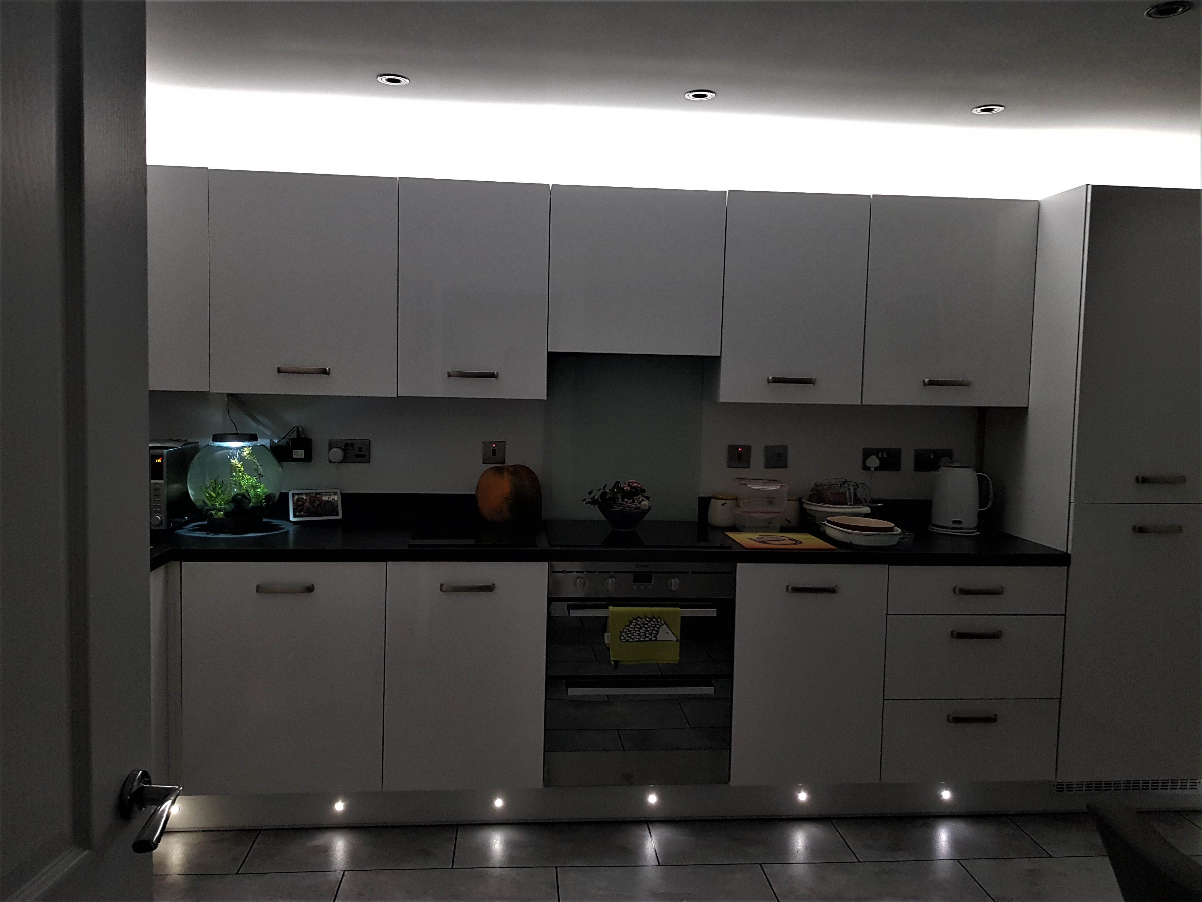 Kitchen Plinth & Cornice lighting Hull