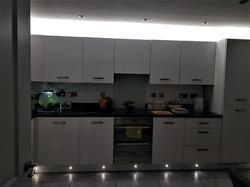 Kitchen Plinth & Cornice lighting Hull