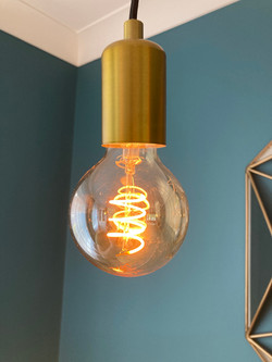 Filament Bulb Light Fitting Hull Electrician, Electrician in Hull