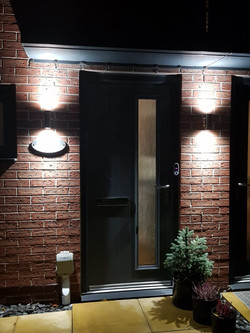 Outdoor Up & Down Lights, Hull, Hull Ele
