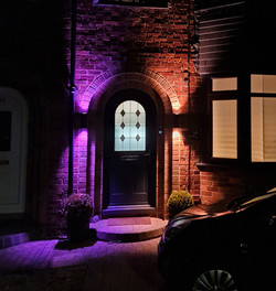 Philips Hue Outdoor wall lights and Nest doorbell, Hull, Electrician in Hull