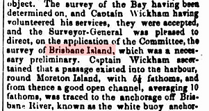 Brisbane Island, SMH 10 Aug 1846.png