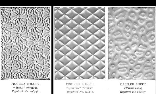 Pilkington Shell, Quilted, Dappled Sheet