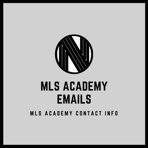 2020 MLS Academy Emails