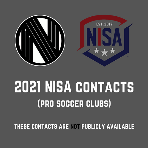 2021 NISA Contacts