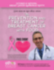 Dr Ron Weiss of Ethos Health will be conducting a free talk about the Prevention and Treatments for Breast Cancer on Oct 14, 2017 at 1pm, Please Register