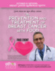 Dr Ron Weiss of Ethos Health will be conducting a free talk about the Prevention and Treatments for Breast Cancer on Oct 28, 2017 at 1pm, Please Register