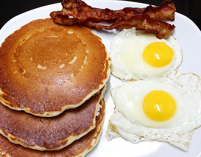 PANCAKES WITH EGGS