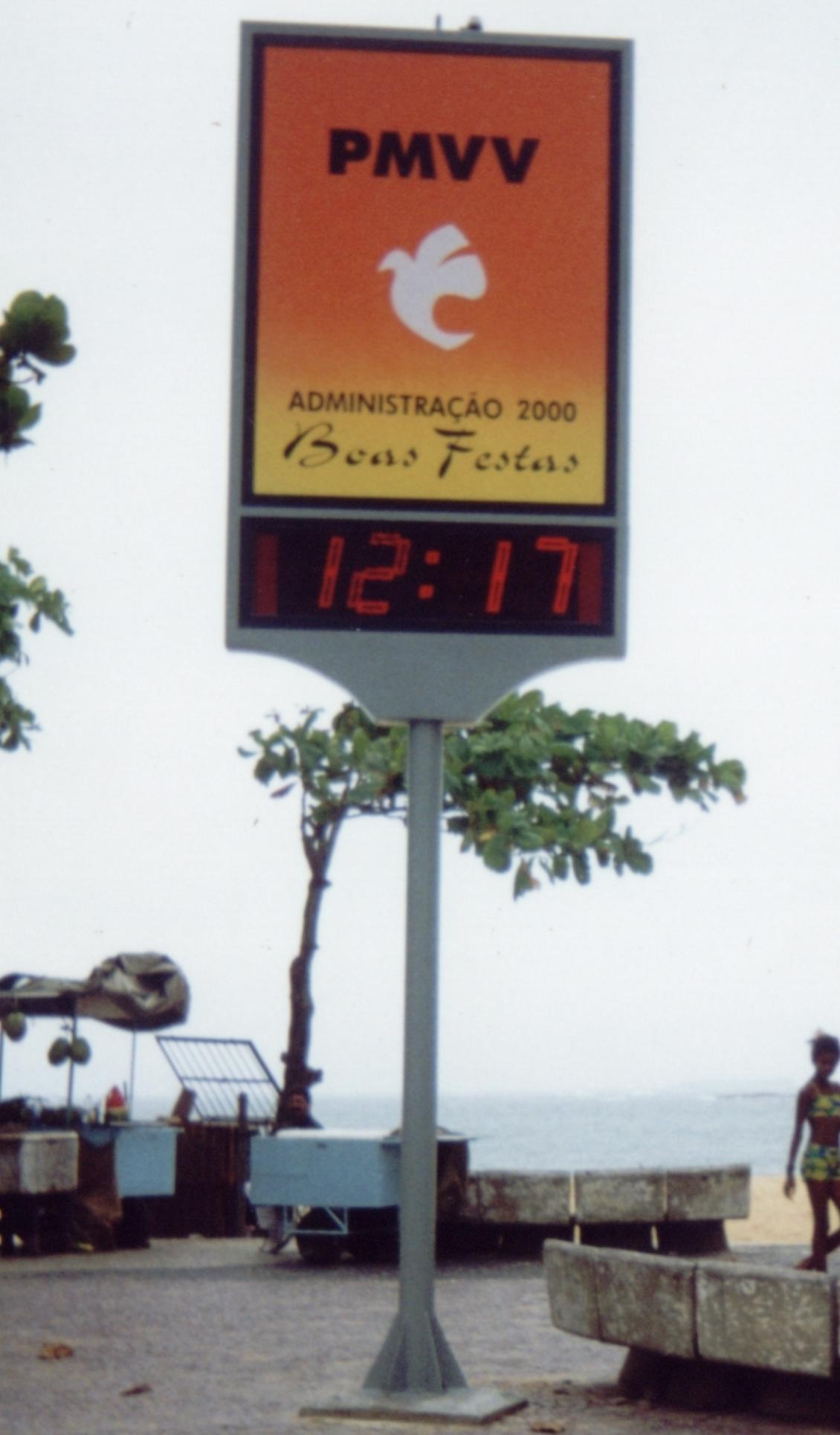 Relógio Calendário Termômetro