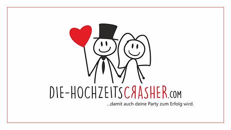 Die Hochzeitscrasher Logo Startseite Mou