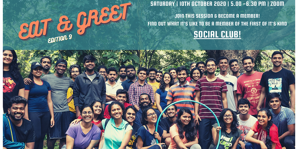 FLIP SOCIALS : Eat and Greet Edition 9!