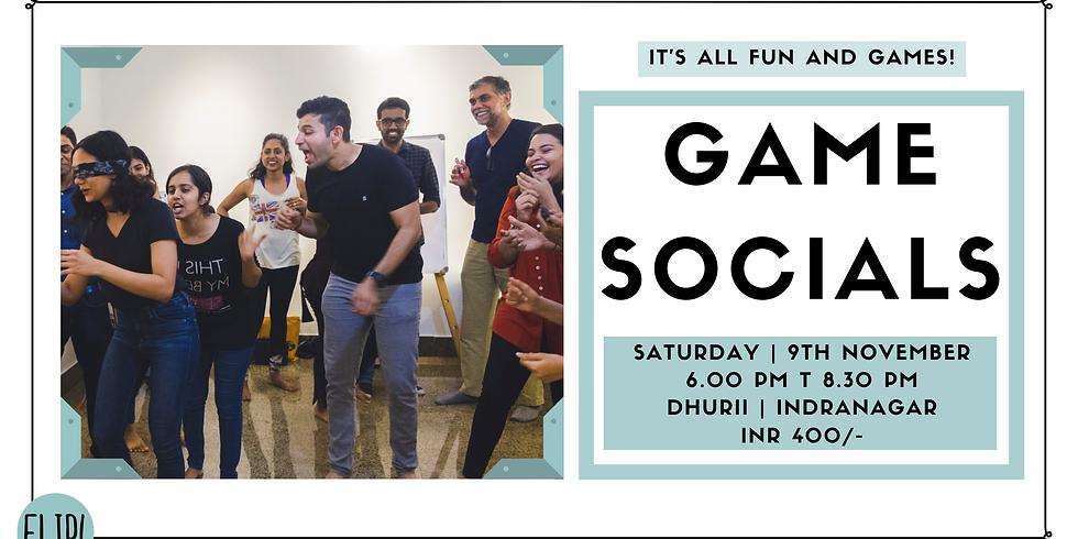 GAME SOCIALS!