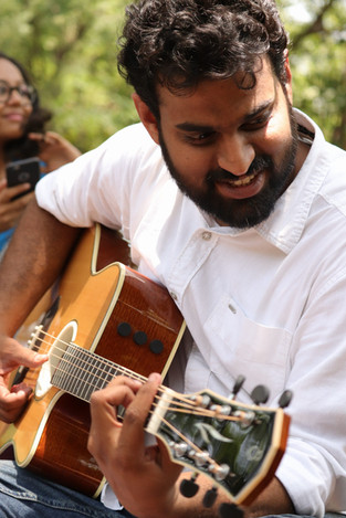 Music jam at Cubbon Park