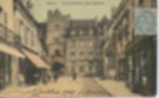 La porte guillier et l'Hôtel de Massolvers 1900