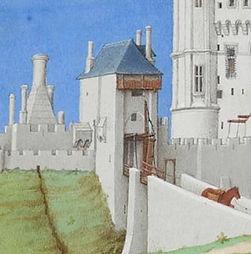 Les très riches heures du duc de Berry - Mois de Septembre - frères Limbourg, vers 1415 (détail)