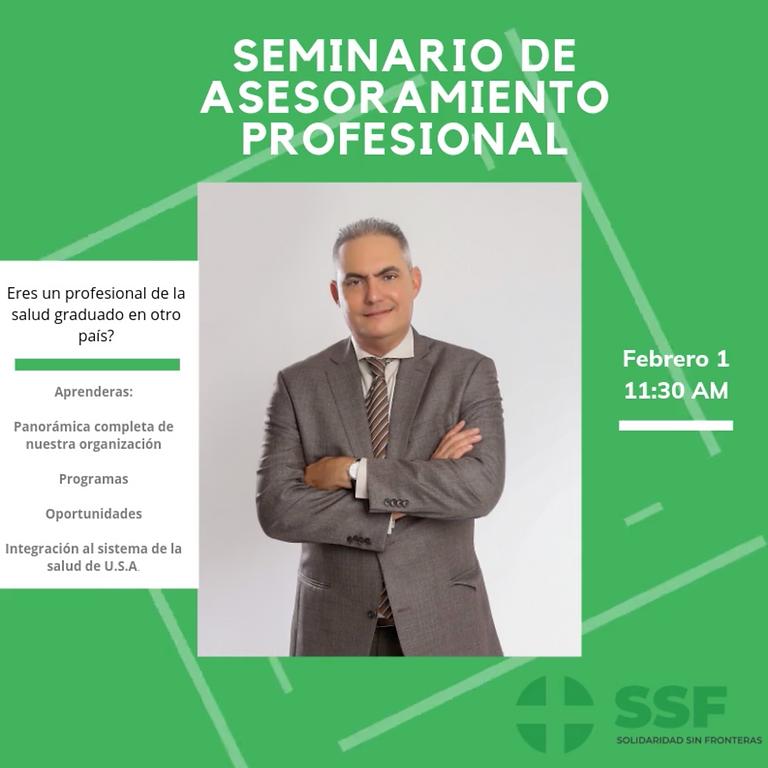 Seminario de Asesoramiento/ Advisor Seminar