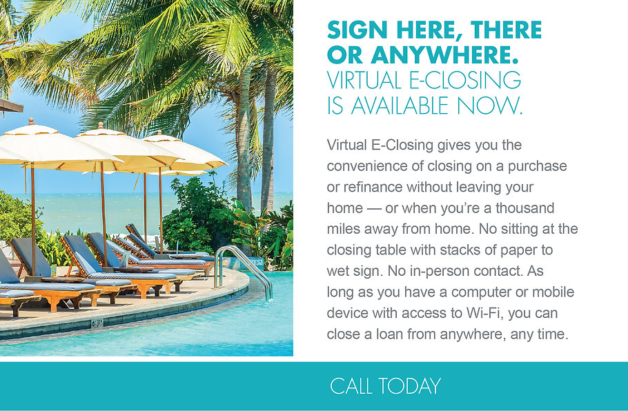 Virtual E Closing for Mortgage