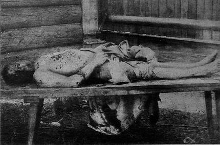 Jewish worker tortured with nails
