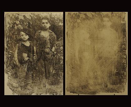 orphanse erased, two panels