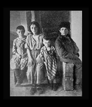 child victims of pogrom, Ukraine, Jewish