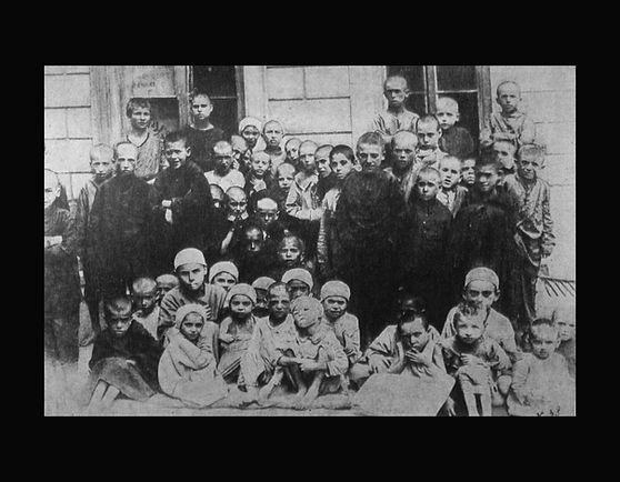 Jewish orphans in Odessa 1920